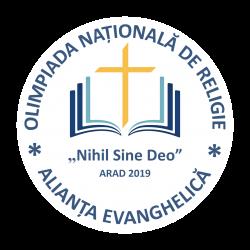 OLIMPIADA NAȚIONALĂ DE RELIGIE ALIANȚA EVANGHELICĂ 2019