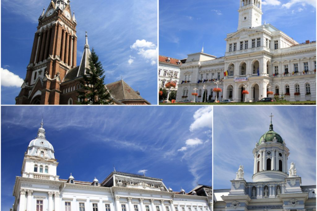 """Biserica Roșie, Primăria Aradului, Biserica Romano-Catolică """"Sfântul Anton de Padova"""""""
